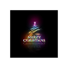 Merry Christmas Abstract Acrylic Tangram Puzzle (4  x 4 )