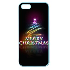 Merry Christmas Abstract Apple Seamless iPhone 5 Case (Color)