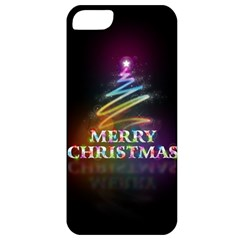 Merry Christmas Abstract Apple iPhone 5 Classic Hardshell Case