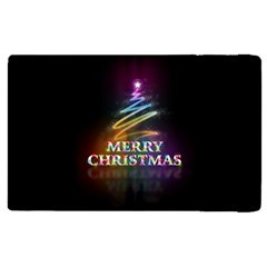 Merry Christmas Abstract Apple iPad 3/4 Flip Case
