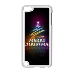 Merry Christmas Abstract Apple iPod Touch 5 Case (White)
