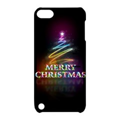 Merry Christmas Abstract Apple iPod Touch 5 Hardshell Case with Stand