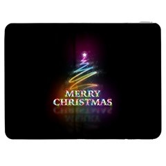 Merry Christmas Abstract Samsung Galaxy Tab 7  P1000 Flip Case