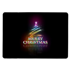 Merry Christmas Abstract Samsung Galaxy Tab 10.1  P7500 Flip Case