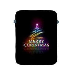 Merry Christmas Abstract Apple iPad 2/3/4 Protective Soft Cases