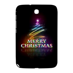 Merry Christmas Abstract Samsung Galaxy Note 8.0 N5100 Hardshell Case