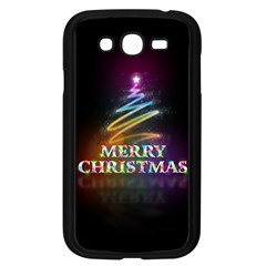 Merry Christmas Abstract Samsung Galaxy Grand DUOS I9082 Case (Black)