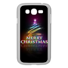 Merry Christmas Abstract Samsung Galaxy Grand DUOS I9082 Case (White)