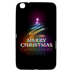 Merry Christmas Abstract Samsung Galaxy Tab 3 (8 ) T3100 Hardshell Case