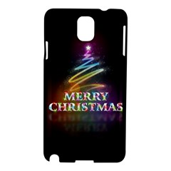 Merry Christmas Abstract Samsung Galaxy Note 3 N9005 Hardshell Case