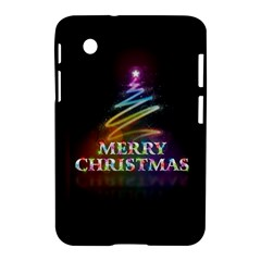 Merry Christmas Abstract Samsung Galaxy Tab 2 (7 ) P3100 Hardshell Case