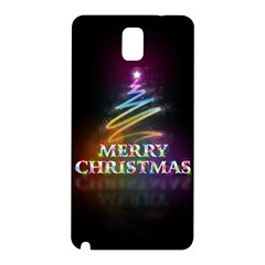 Merry Christmas Abstract Samsung Galaxy Note 3 N9005 Hardshell Back Case