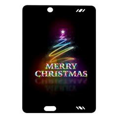 Merry Christmas Abstract Amazon Kindle Fire HD (2013) Hardshell Case