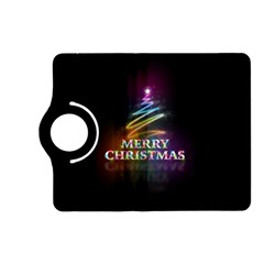 Merry Christmas Abstract Kindle Fire HD (2013) Flip 360 Case