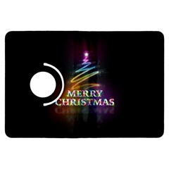 Merry Christmas Abstract Kindle Fire HDX Flip 360 Case