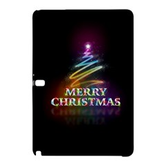 Merry Christmas Abstract Samsung Galaxy Tab Pro 10.1 Hardshell Case
