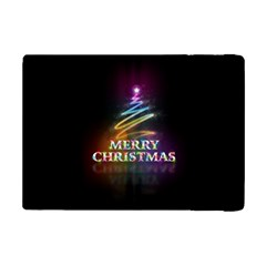 Merry Christmas Abstract iPad Mini 2 Flip Cases