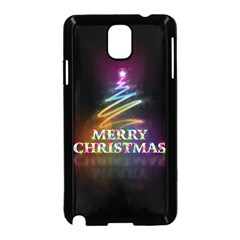 Merry Christmas Abstract Samsung Galaxy Note 3 Neo Hardshell Case (Black)