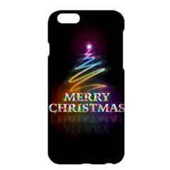 Merry Christmas Abstract Apple iPhone 6 Plus/6S Plus Hardshell Case
