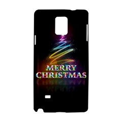 Merry Christmas Abstract Samsung Galaxy Note 4 Hardshell Case