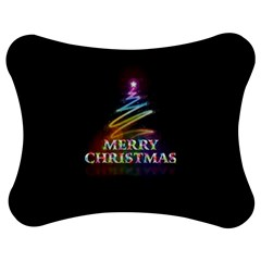 Merry Christmas Abstract Jigsaw Puzzle Photo Stand (Bow)