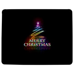 Merry Christmas Abstract Jigsaw Puzzle Photo Stand (Rectangular)