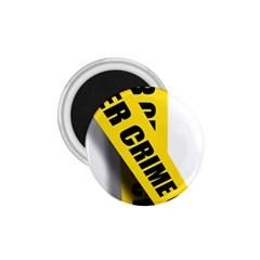 Internet Crime Cyber Criminal 1.75  Magnets
