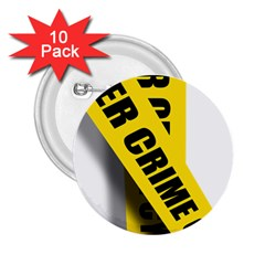 Internet Crime Cyber Criminal 2.25  Buttons (10 pack)