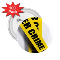 Internet Crime Cyber Criminal 2.25  Buttons (100 pack)