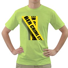 Internet Crime Cyber Criminal Green T-Shirt