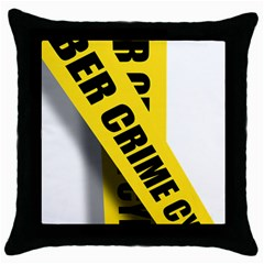 Internet Crime Cyber Criminal Throw Pillow Case (Black)