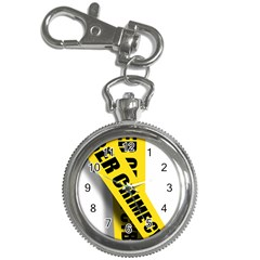 Internet Crime Cyber Criminal Key Chain Watches