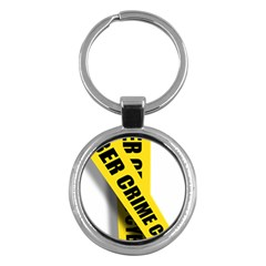 Internet Crime Cyber Criminal Key Chains (Round)