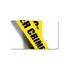Internet Crime Cyber Criminal Magnet (Name Card)