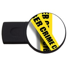 Internet Crime Cyber Criminal USB Flash Drive Round (2 GB)