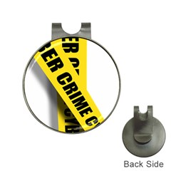 Internet Crime Cyber Criminal Hat Clips with Golf Markers