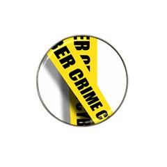 Internet Crime Cyber Criminal Hat Clip Ball Marker (4 pack)