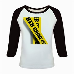 Internet Crime Cyber Criminal Kids Baseball Jerseys