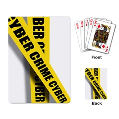 Internet Crime Cyber Criminal Playing Card