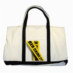 Internet Crime Cyber Criminal Two Tone Tote Bag