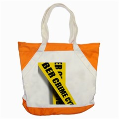 Internet Crime Cyber Criminal Accent Tote Bag