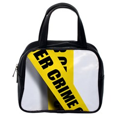 Internet Crime Cyber Criminal Classic Handbags (One Side)