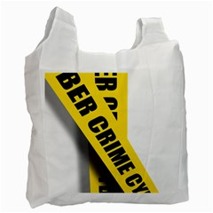 Internet Crime Cyber Criminal Recycle Bag (Two Side)