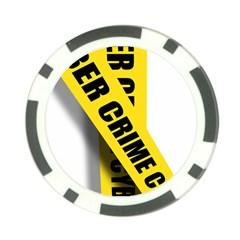 Internet Crime Cyber Criminal Poker Chip Card Guards (10 pack)