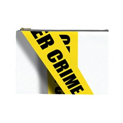 Internet Crime Cyber Criminal Cosmetic Bag (Large)