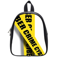 Internet Crime Cyber Criminal School Bags (Small)