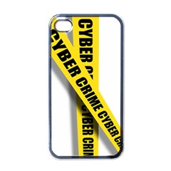 Internet Crime Cyber Criminal Apple iPhone 4 Case (Black)