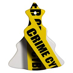 Internet Crime Cyber Criminal Christmas Tree Ornament (2 Sides)