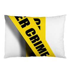 Internet Crime Cyber Criminal Pillow Case (Two Sides)
