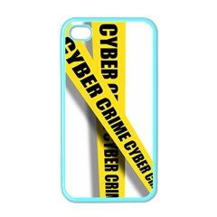 Internet Crime Cyber Criminal Apple iPhone 4 Case (Color)